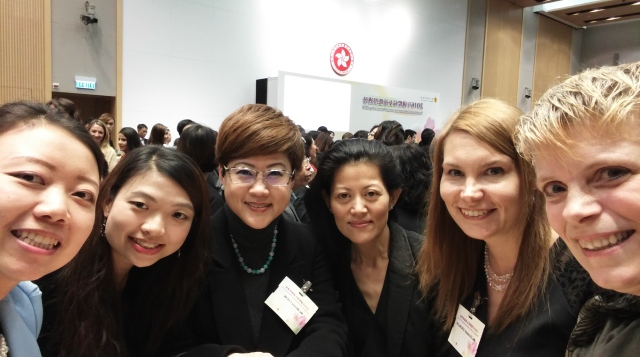 BPWHK ExCo Attend Gov't Reception for Int'l Women's Day (08/03/16)